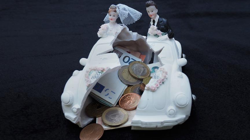 Financiële afhandeling scheiding